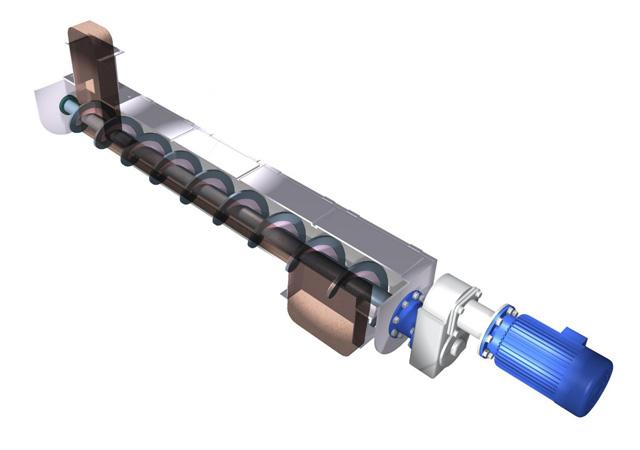 насос шнековый - конструкция и принцип работы
