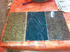 Плитка - технология искусственный мрамор, литьевой гранит